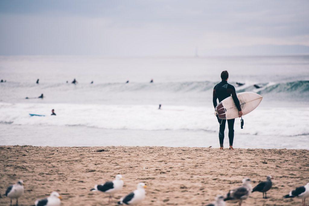 practicar surf en vejer